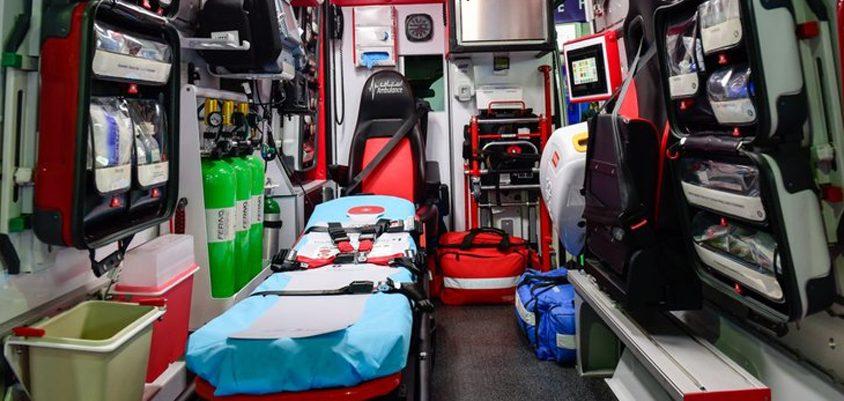 ambulância particular interna